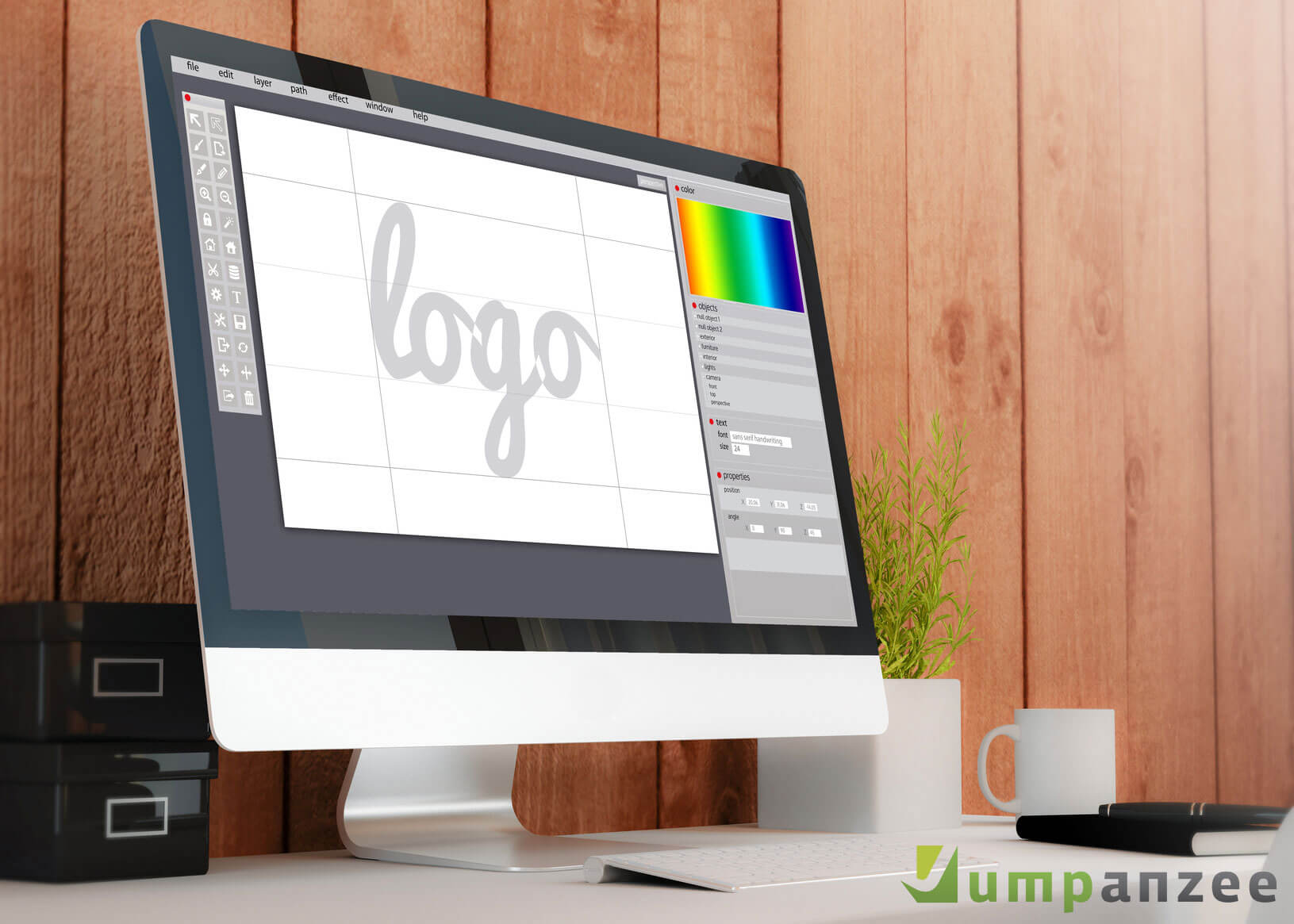 Jumpanzee Logo Refresher Test for Businesses 2