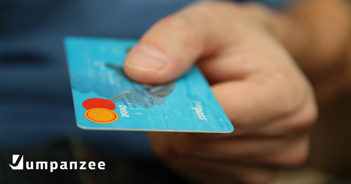 man with credit card for e-commerce