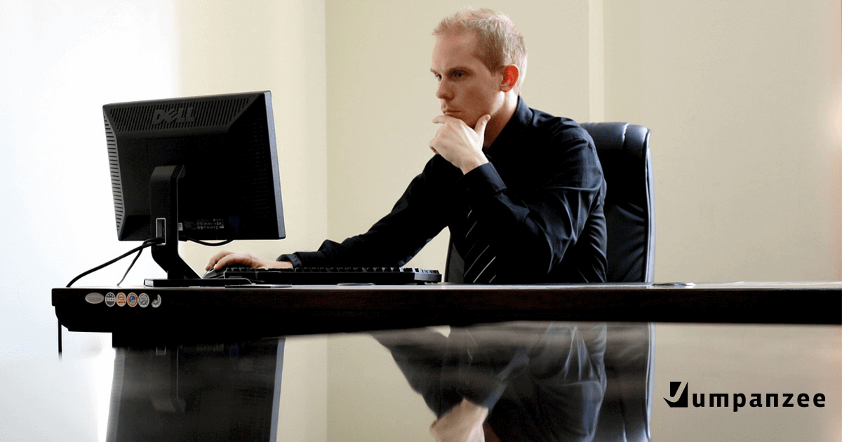 5 Signs Your Website is Boring - Man Bored at Work