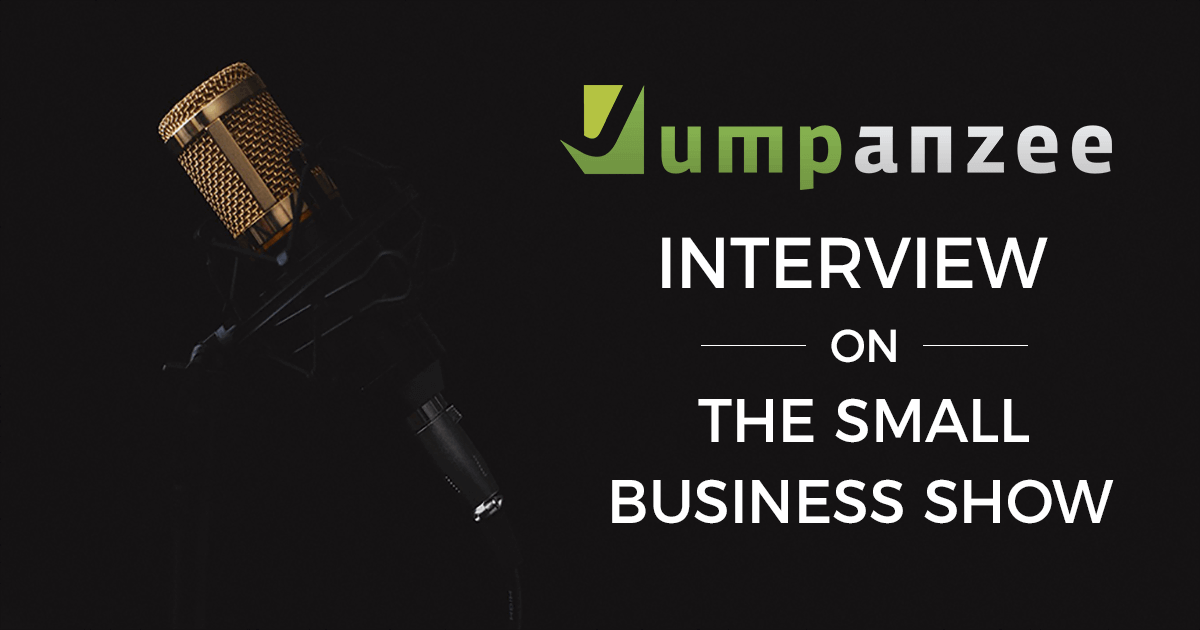 The Small Business Show Interview with Jumpanzee - Microphone for Podcast