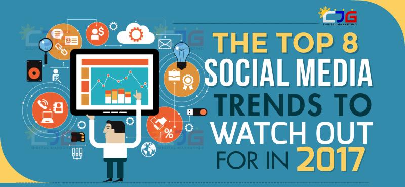 Top 8 2017 Social Media Marketing Trends