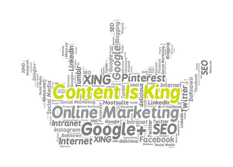 6 Critical Tips for Creating Killer Content - Keywords Forming a Crown