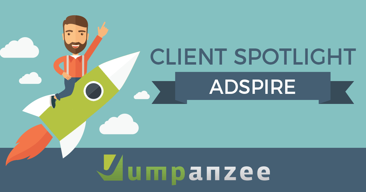 Adspire Client Spotlight - Jumpanzee Blog