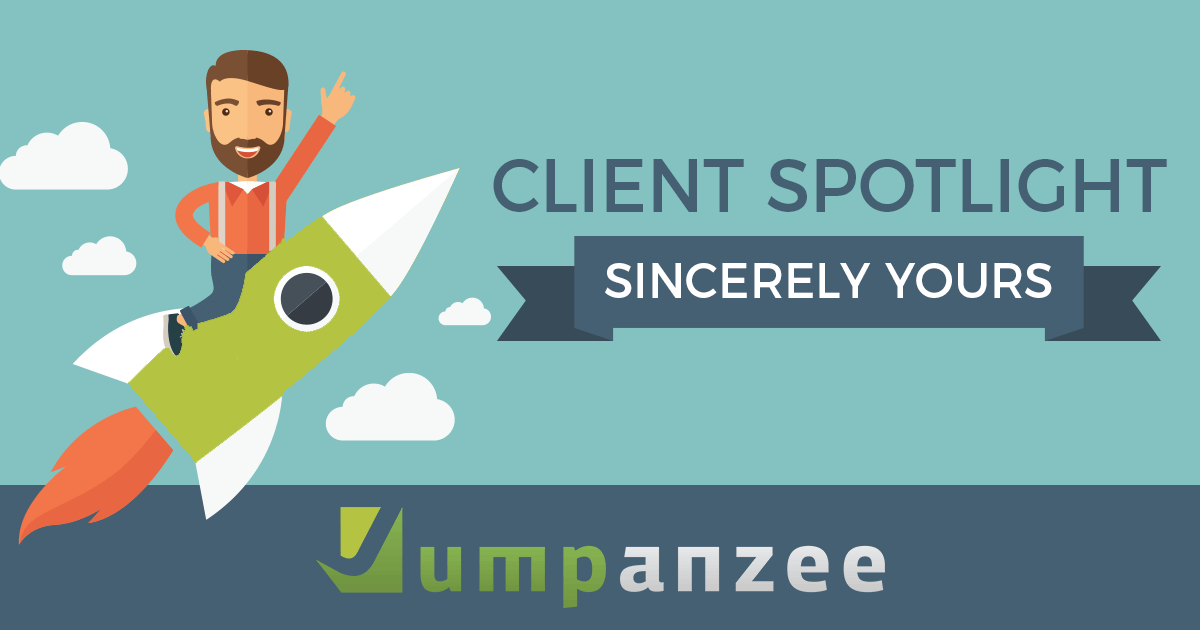 Sincerely Yours Client Spotlight - Jumpanzee Blog