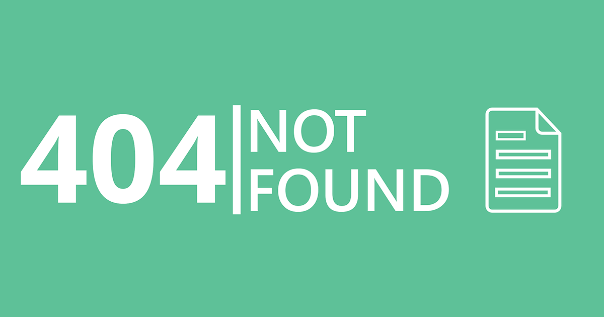 How to Make Your Page 404 Error Useful - 404 Not Found 2