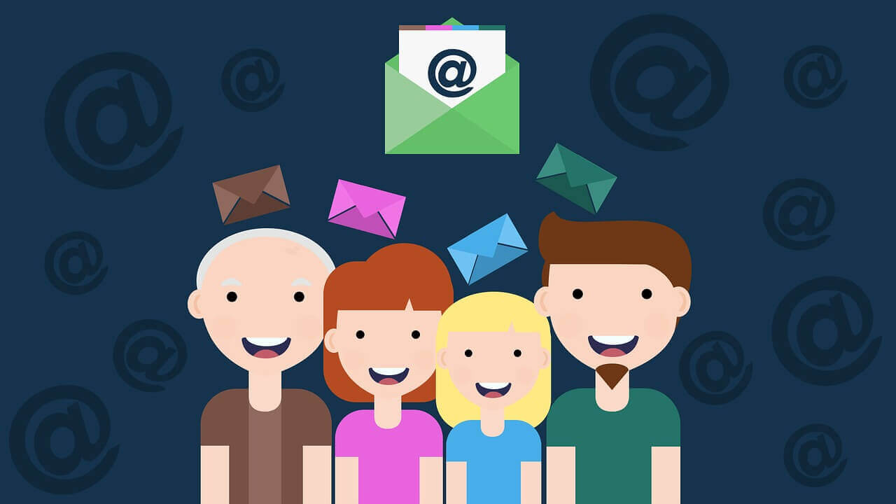 How to Build Your Email List in 3 Easy Steps - Animated People & Emails