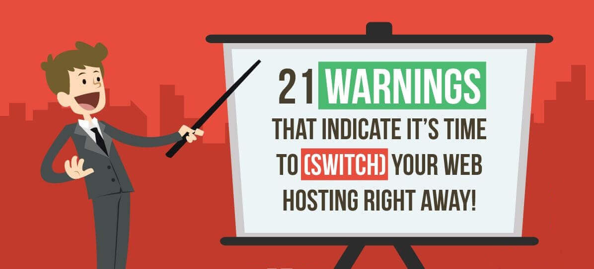 Warning Signs Of A Terrible Web Hosting Service Provider [Infographic]